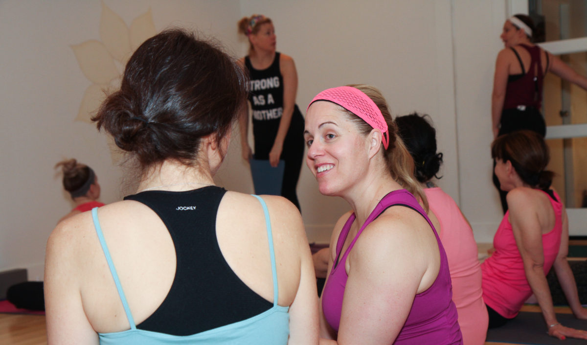 candid sol power yoga class